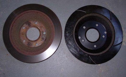 Images Of Bad Calipers : N rfc how to c corvette brake rotors and pads